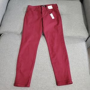 Express cropped mid rise jeans, size 2 NWT
